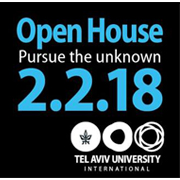 TAU Open Day on Friday, February 2